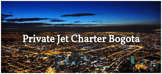 bogota jet charter services